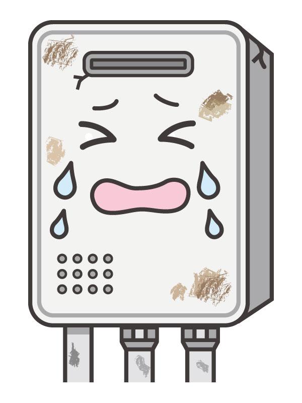 給湯器の故障